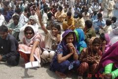 protest-for-fake-case-on-veerji-kolhi-on-21-6-11